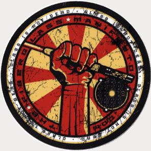 The Fiberglass Manifesto Comrade Sticker
