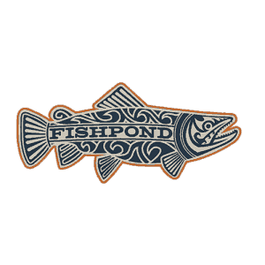 Fishpond Maori Trout Sticker