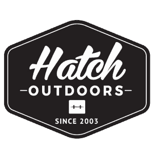Hatch Outdoors Badge Sticker