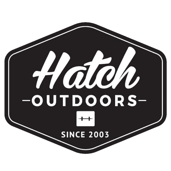 Hatch Outdoors Badge Sticker