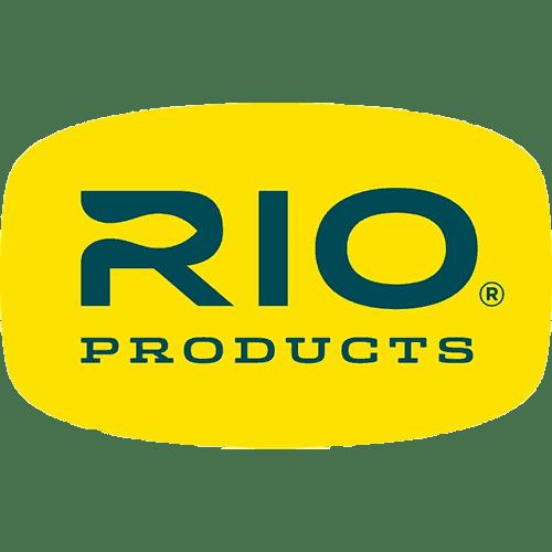 Rio Blue on Yellow Sticker