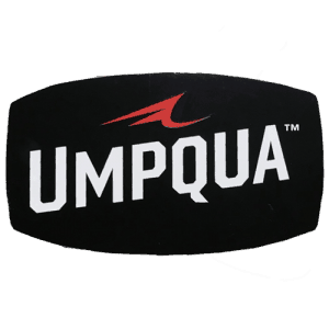 Umqua Small Oval Sticker