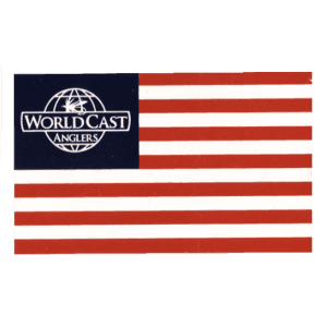 WorldCast Anglers USA Flag