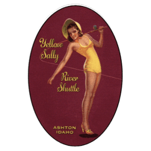 Yellow Sally Shuttle Ashton ID