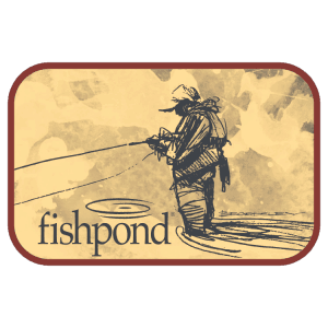 Fishpond Bloodknot Sticker - 5.5""
