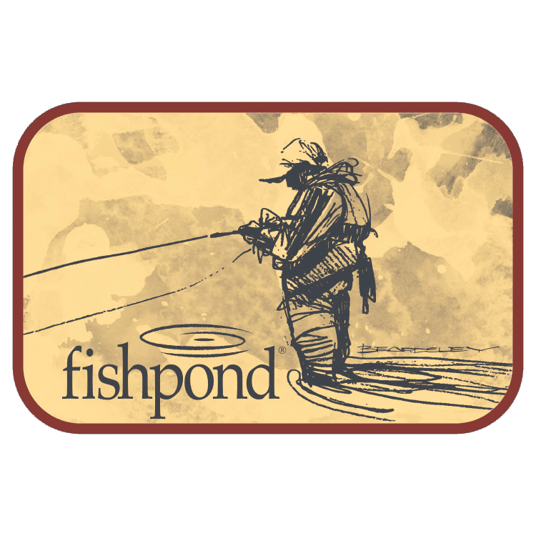 Fishpond bloodknot sticker fly fishing stickers and decals for Fishpond fly fishing