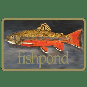 """Fishpond Brookie 5"""" Sticker"""