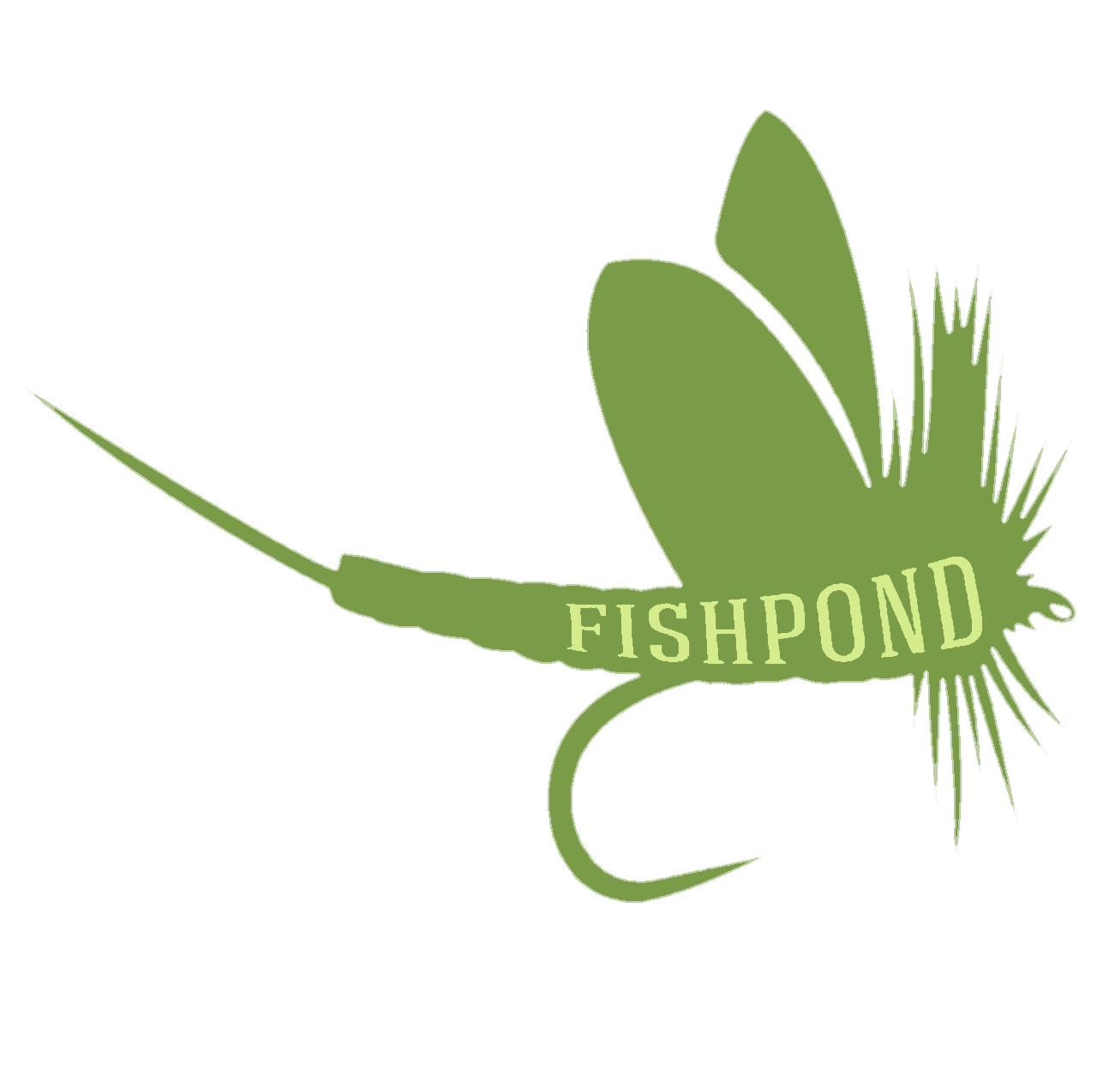 Fishpond green drake sticker fly fishing stickers and decals for Fishpond fly fishing