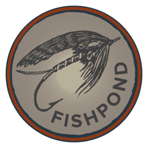 Fishpond Speyer Circle Sticker - 2.25""