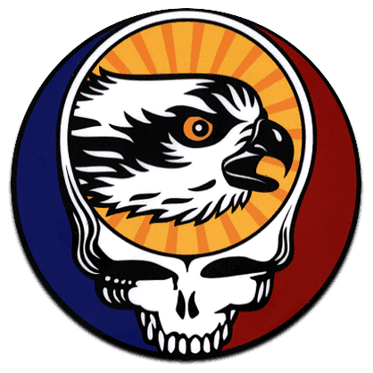 TroutHunter Steal Your Face Sticker