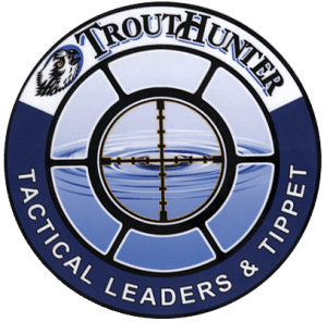 TroutHunter Tactical Leaders and Tippet Sticker