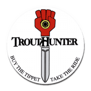 TroutHunter Take the Ride Sticker