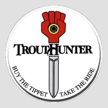 TroutHunter Take the Ride Sticker