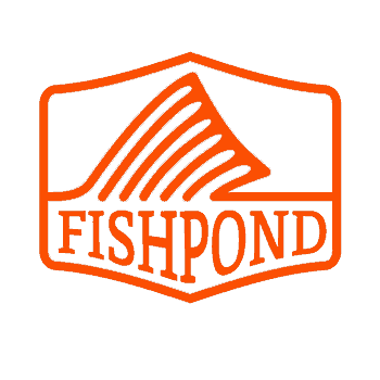 Fishpond Dorsal Fin Thermal Die Cut Sticker