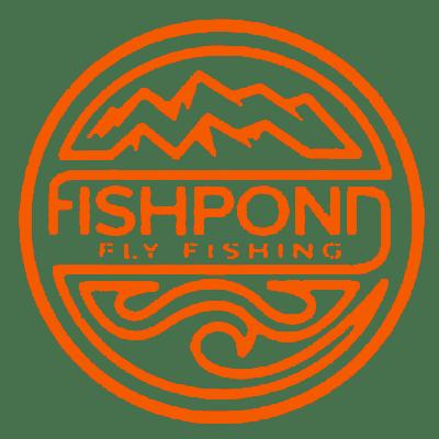 Fishpond thermal die cut sticker headwater 4 5″