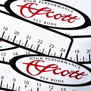 Scott 24 Inch Ruler Decal