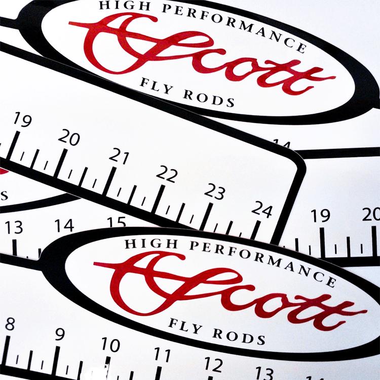 Scott 24 Inch Ruler Decal