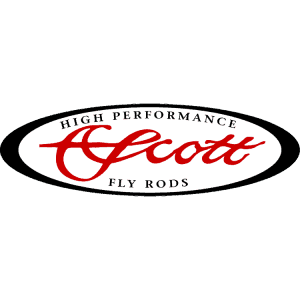 Scott Fly Rods Logo Decal