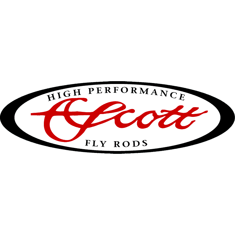 Scott Fly Rods Logo Decal
