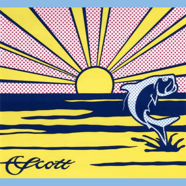 Scott Tarpon Rising Sun Decal