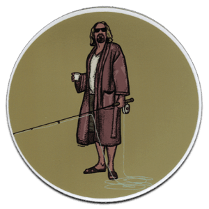 Richard Blanco Lebowski Dude Decal