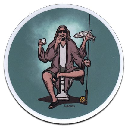 Richard Blanco Lebowski Dude Sticker