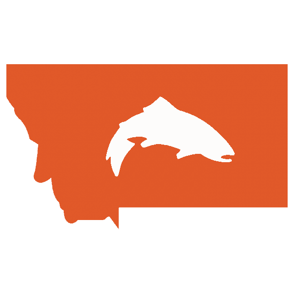 Simms Montana State Trout Decal