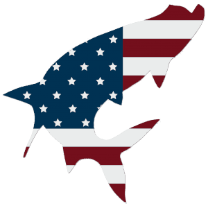 Simms USA Tarpon Decal