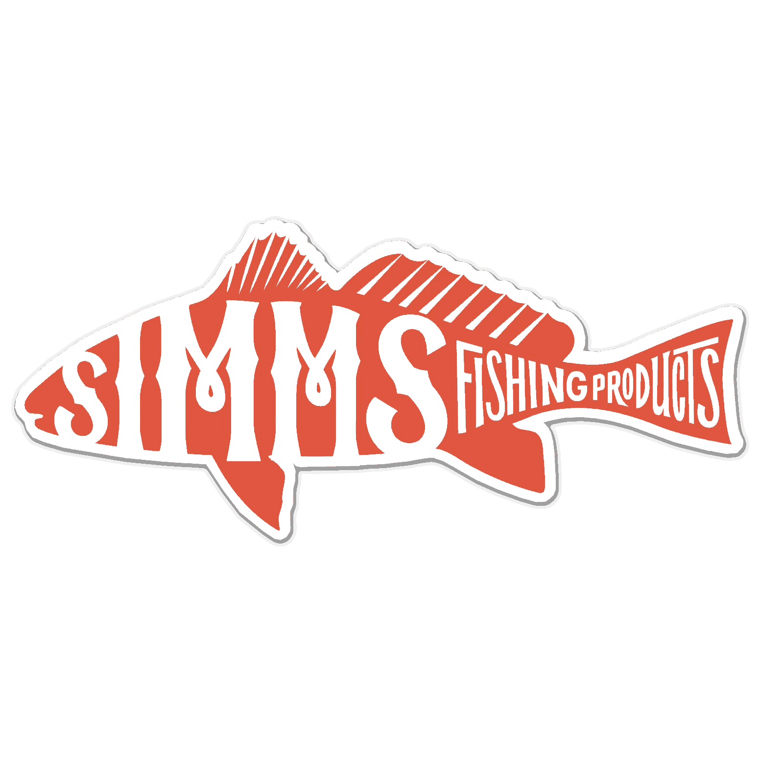 Peelable Wall Stickers Simms Trout Decal Satu Sticker