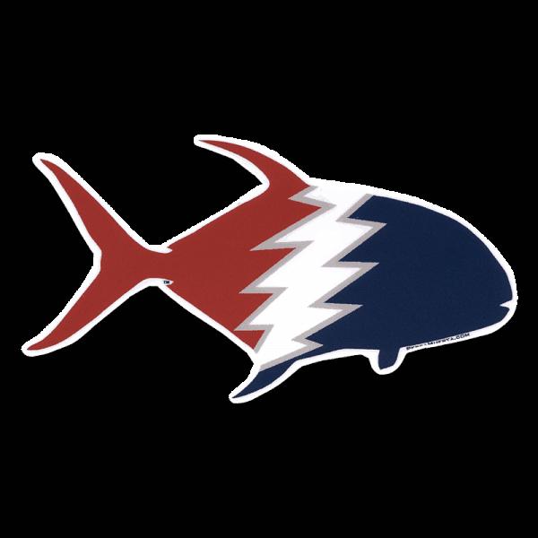 Pesca Muerta Permit Decal