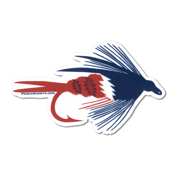 Pesca Muerta RTP Dry Fly Decal