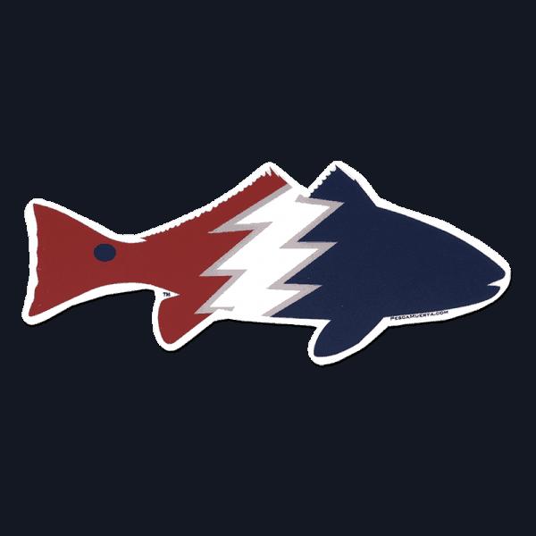 Pesca Muerta Redfish Decal