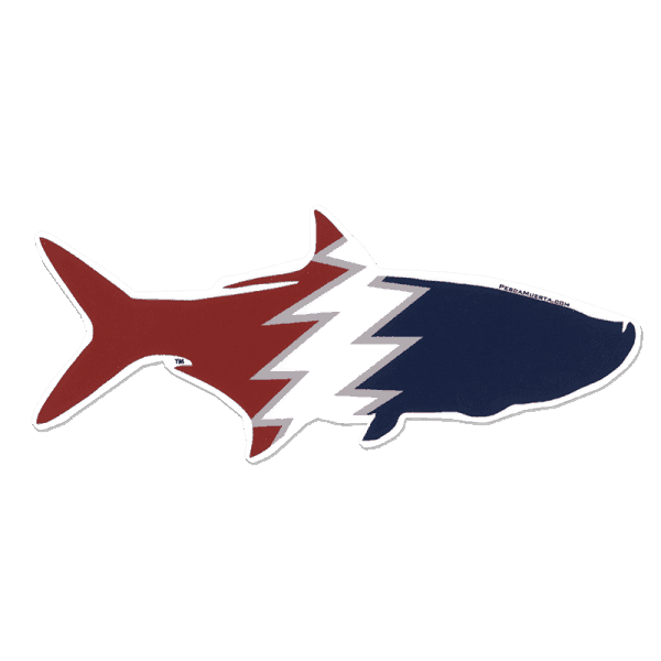 Pesca Muerta Tarpon Sticker