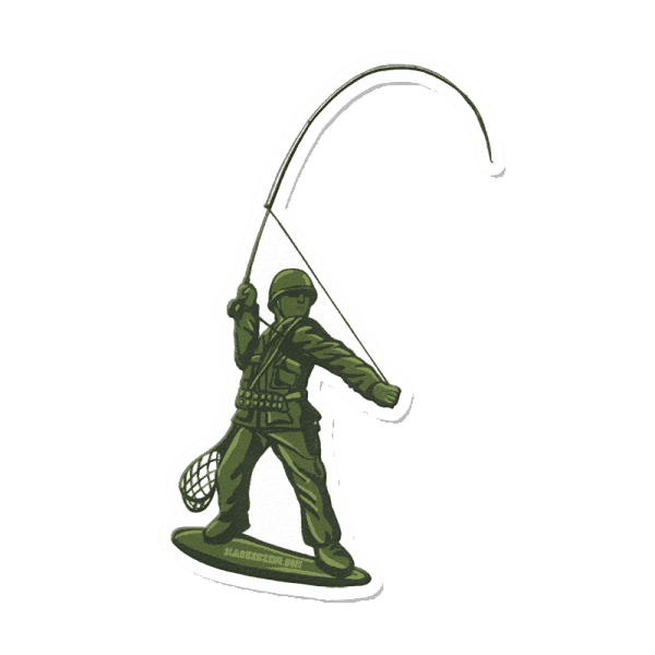 Richard Blanco GI Trout Sticker