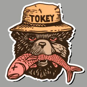 Richard Blanco Tokey Bear Sticker