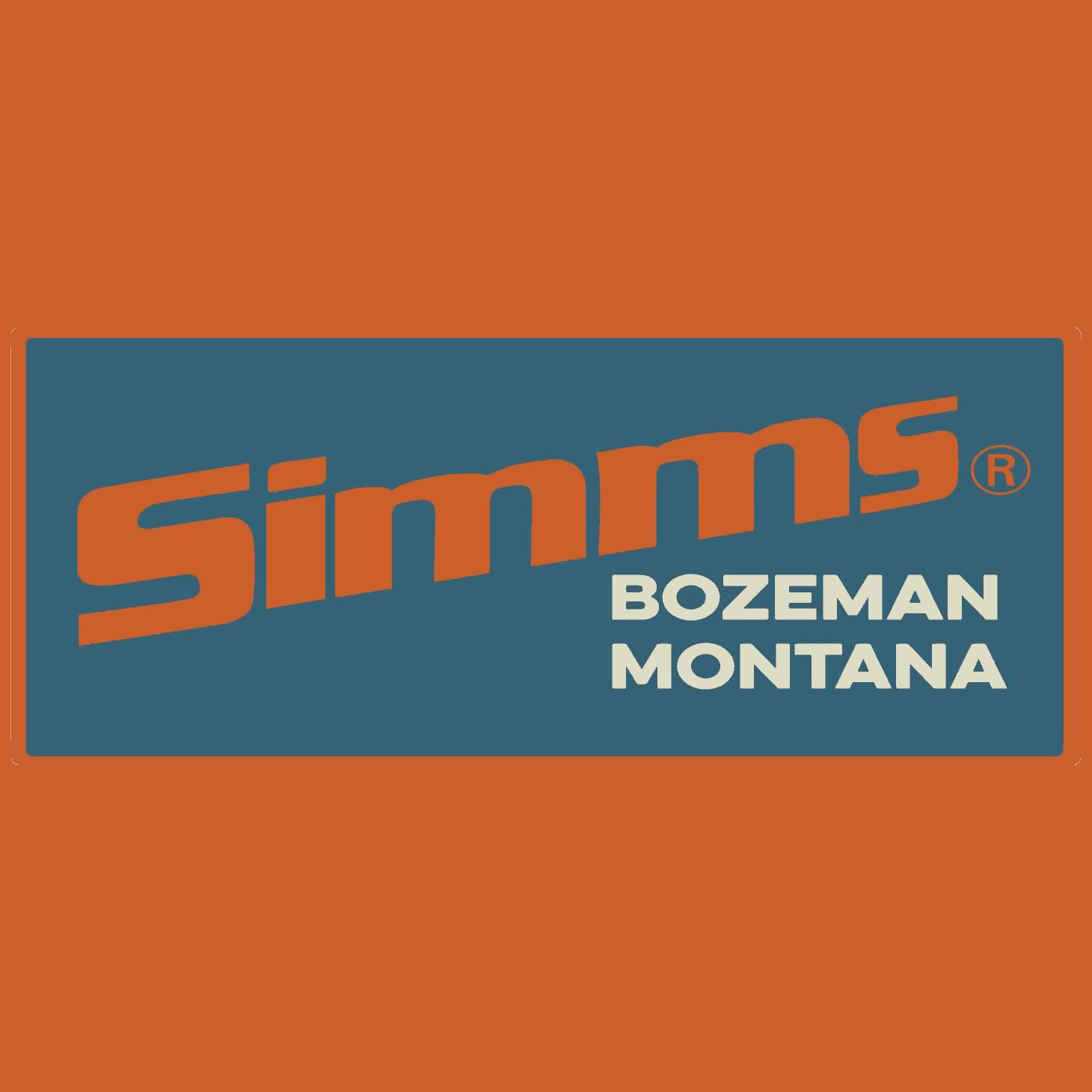 Simms Retro Logo Decal