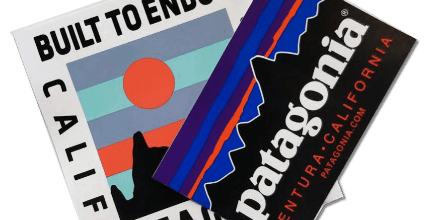 Get a Free Patagonia Sticker from Patagonia com - Fly