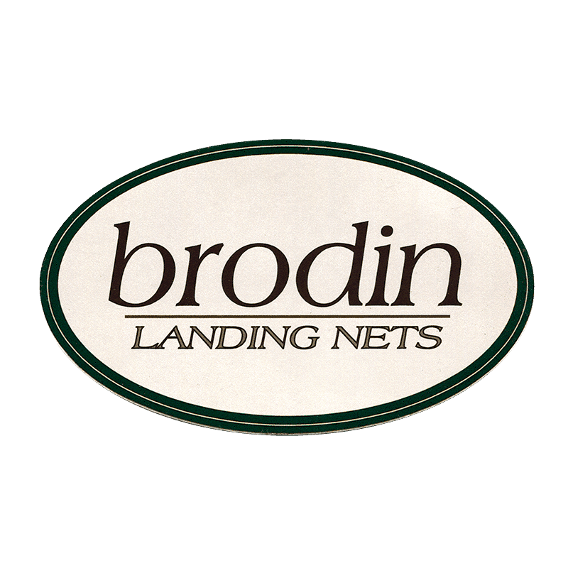 Brodin Landing Nets Sticker