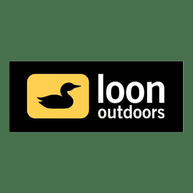 Loon outdoors logo sticker