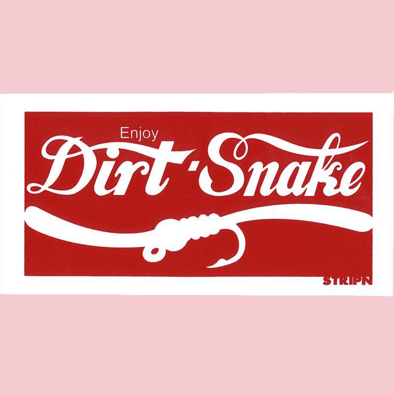 Strippin Flywear Dirt Snake Sticker