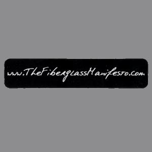 The Fiberglass Manifesto Sticker