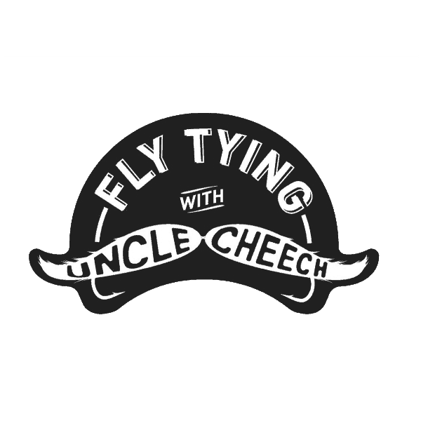 Fly Fish Food Fly Tying With Uncle Cheech Sticker