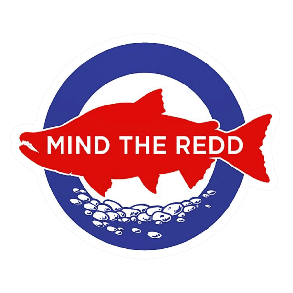 Nate Karnes Mind The Redd Sockeye Decal