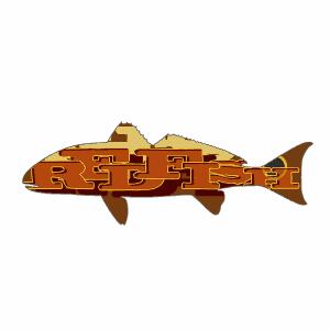 TypeFace Redfish Sticker
