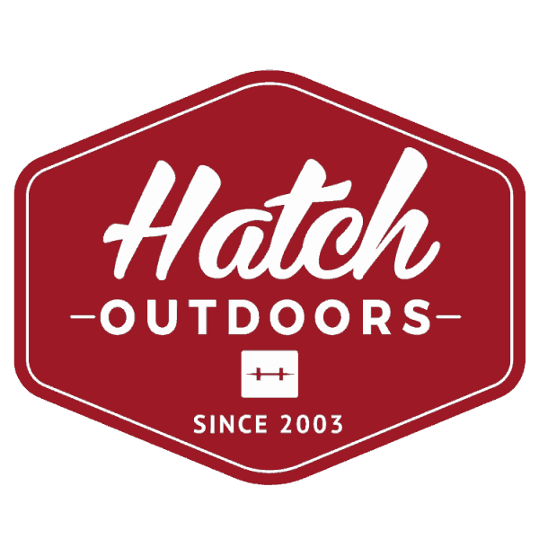 Hatch Badge Red Sticker