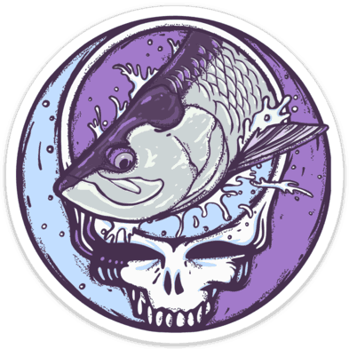 Richard Blanco Steal Your Face Tarpon Sticker