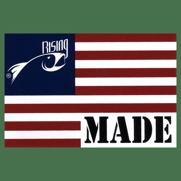Rising USA Flag Decal