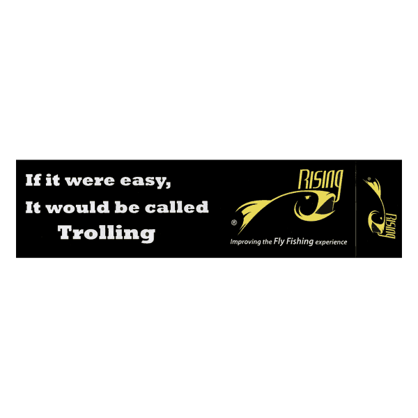 Rising Trolling Sticker