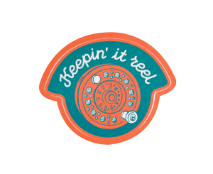 Sendero Keepin It Reel Sticker