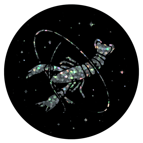 Howler Cosmic Crawfish Sticker